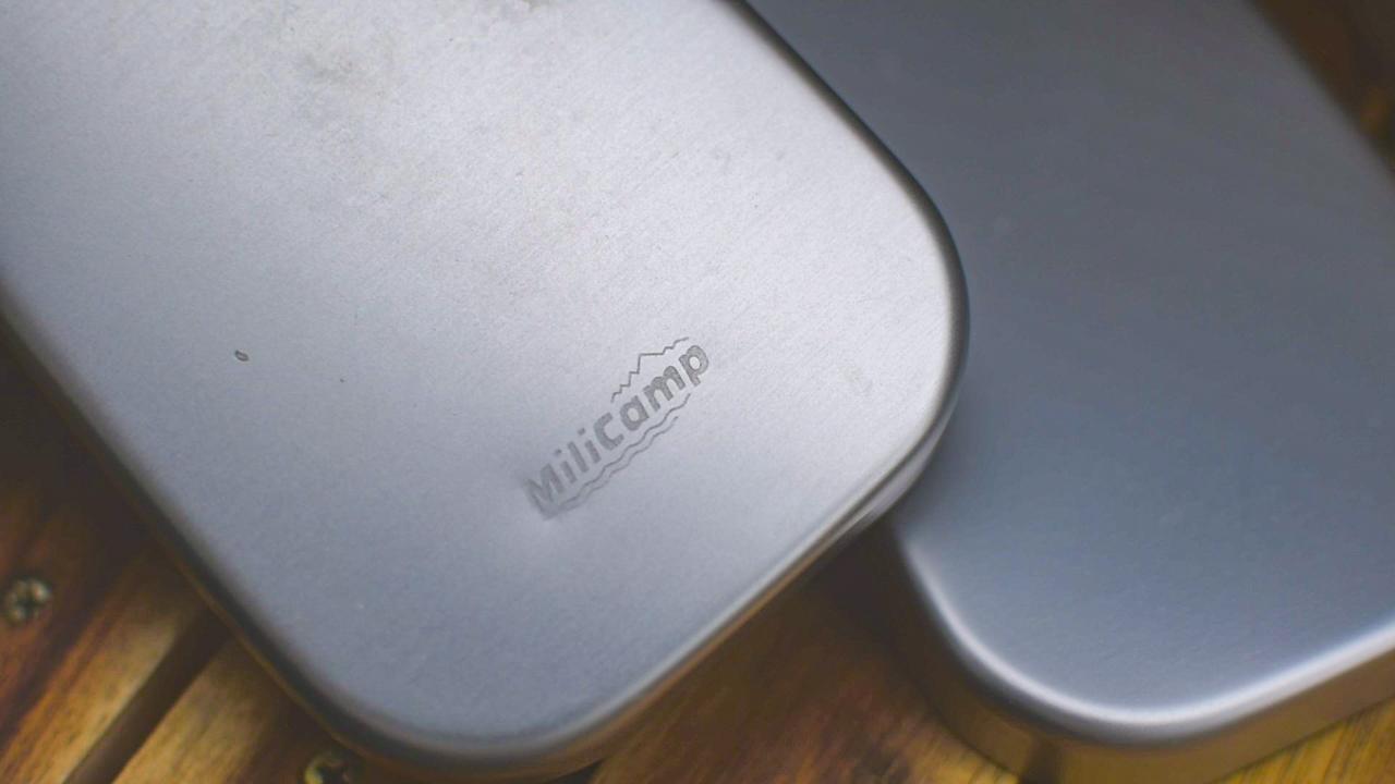 蓋にmilicampのロゴ